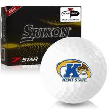 Srixon Z-Star 7 Kent State Golden Flashes Golf Balls