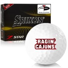 Srixon Z-Star 7 Louisiana Ragin' Cajuns Golf Balls
