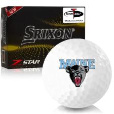 Srixon Z-Star 7 Maine Black Bears Golf Balls