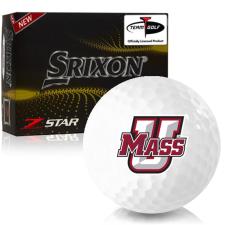Srixon Z-Star 7 UMass Minutemen Golf Balls
