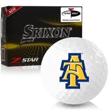 Srixon Z-Star 7 North Carolina A&T Aggies Golf Balls
