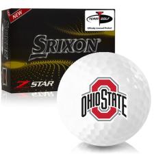 Srixon Z-Star 7 Ohio State Buckeyes Golf Balls