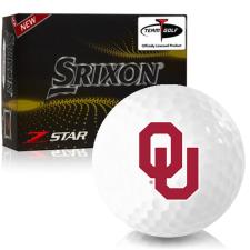 Srixon Z-Star 7 Oklahoma Sooners Golf Balls