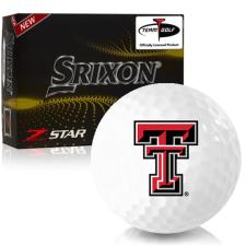 Srixon Z-Star 7 Texas Tech Red Raiders Golf Balls