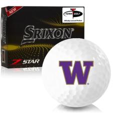 Srixon Z-Star 7 Washington Huskies Golf Balls
