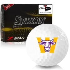 Srixon Z-Star 7 Williams College Ephs Golf Balls