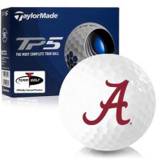 Taylor Made TP5 Alabama Crimson Tide Golf Balls