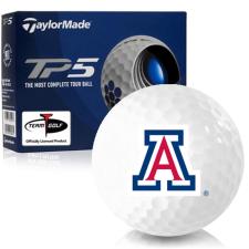 Taylor Made TP5 Arizona Wildcats Golf Balls