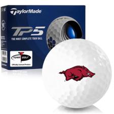 Taylor Made TP5 Arkansas Razorbacks Golf Balls