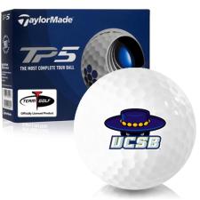 Taylor Made TP5 Cal Santa Barbara Gauchos Golf Balls