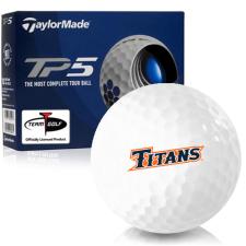 Taylor Made TP5 Cal State Fullerton Titans Golf Balls
