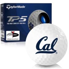 Taylor Made TP5 California Golden Bears Golf Balls