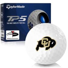 Taylor Made TP5 Colorado Buffaloes Golf Balls