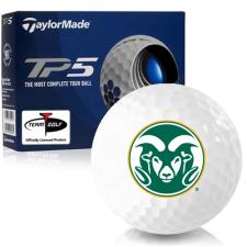 Taylor Made TP5 Colorado State Rams Golf Balls