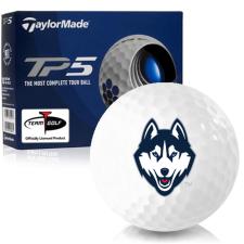Taylor Made TP5 UConn Huskies Golf Balls