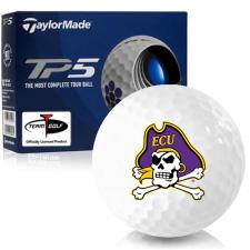 Taylor Made TP5 East Carolina Pirates Golf Balls
