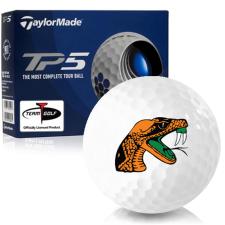 Taylor Made TP5 Florida A&M Rattlers Golf Balls