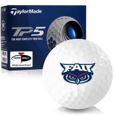 Taylor Made TP5 Florida Atlantic Owls Golf Balls