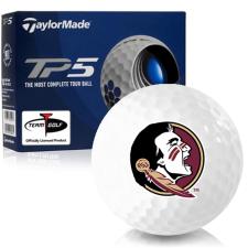 Taylor Made TP5 Florida State Seminoles Golf Balls