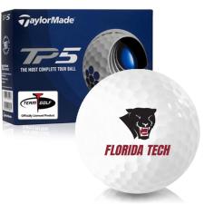 Taylor Made TP5 Florida Tech Panthers Golf Balls