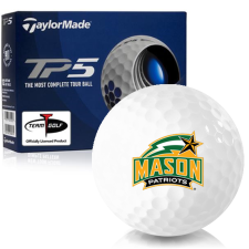 Taylor Made TP5 George Mason Patriots Golf Balls