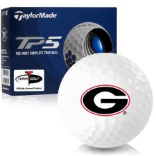 Taylor Made TP5 Georgia Bulldogs Golf Balls