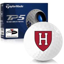 Taylor Made TP5 Harvard Crimson Golf Balls