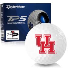 Taylor Made TP5 Houston Cougars Golf Balls