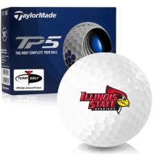 Taylor Made TP5 Illinois State Redbirds Golf Balls