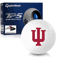 Taylor Made TP5 Indiana Hoosiers Golf Balls