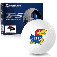 Taylor Made TP5 Kansas Jayhawks Golf Balls
