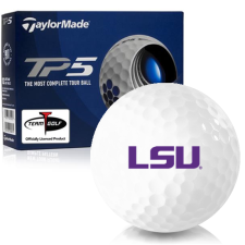 Taylor Made TP5 LSU Tigers Golf Balls