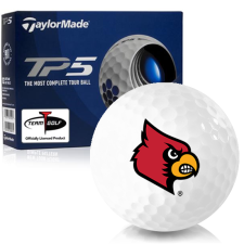 Taylor Made TP5 Louisville Cardinals Golf Balls