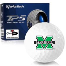 Taylor Made TP5 Marshall Thundering Herd Golf Balls