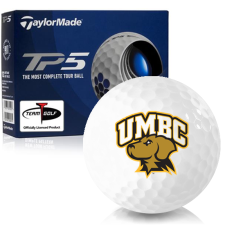 Taylor Made TP5 Maryland Baltimore County Retrievers Golf Balls