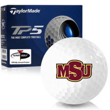 Taylor Made TP5 Midwestern State Mustangs Golf Balls