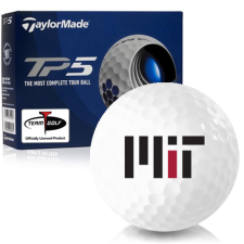 Taylor Made TP5 MIT - Massachusetts Institute of Technology Golf Balls
