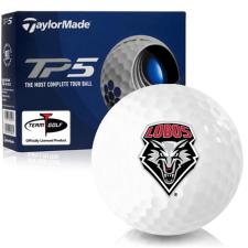 Taylor Made TP5 New Mexico Lobos Golf Balls