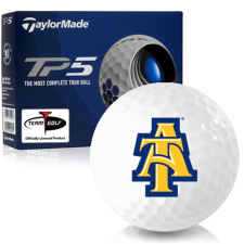 Taylor Made TP5 North Carolina A&T Aggies Golf Balls