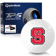 Taylor Made TP5 North Carolina State Wolfpack Golf Balls