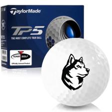 Taylor Made TP5 Northeastern Huskies Golf Balls