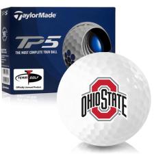 Taylor Made TP5 Ohio State Buckeyes Golf Balls