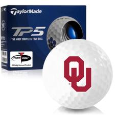 Taylor Made TP5 Oklahoma Sooners Golf Balls