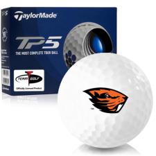 Taylor Made TP5 Oregon State Beavers Golf Balls