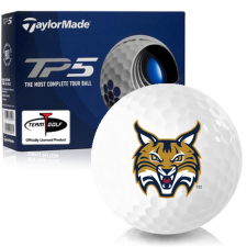 Taylor Made TP5 Quinnipiac Bobcats Golf Balls
