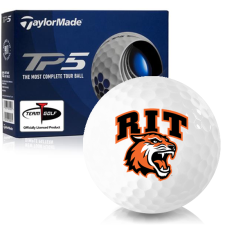 Taylor Made TP5 RIT - Rochester Institute of Technology Tigers Golf Balls