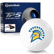 Taylor Made TP5 San Jose State Spartans Golf Balls