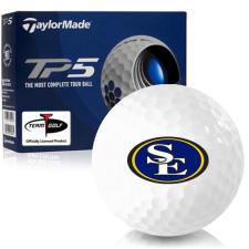 Taylor Made TP5 Southeastern Oklahoma State Savage Storm Golf Balls