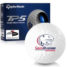 Taylor Made TP5 South Alabama Jaguars Golf Balls