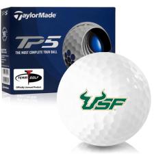 Taylor Made TP5 South Florida Bulls Golf Balls